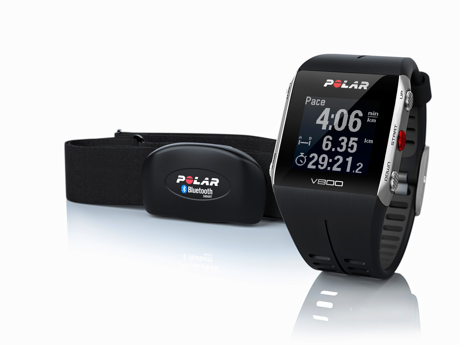 polar gps v800 heart rate monitor energia sports