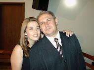 Nosso amado pastor e sua esposa.