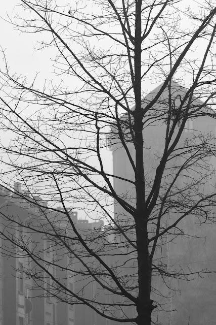 Abstrakcyjna fotografia krajobrazu. Piktorialny obraz miasta. Ruda Slaska. fot. Lukasz Cyrus, Katowice.