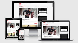 Vcol Bussines Responsive Blogger Template