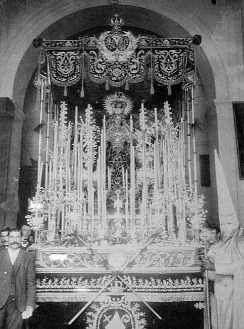Palio Virgendel refugio Patrocinio López 1881