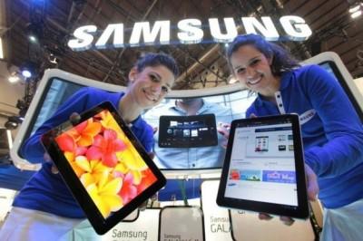 Pangsa Pasar Tablet Samsung Naik, iPad Masih Memimpin