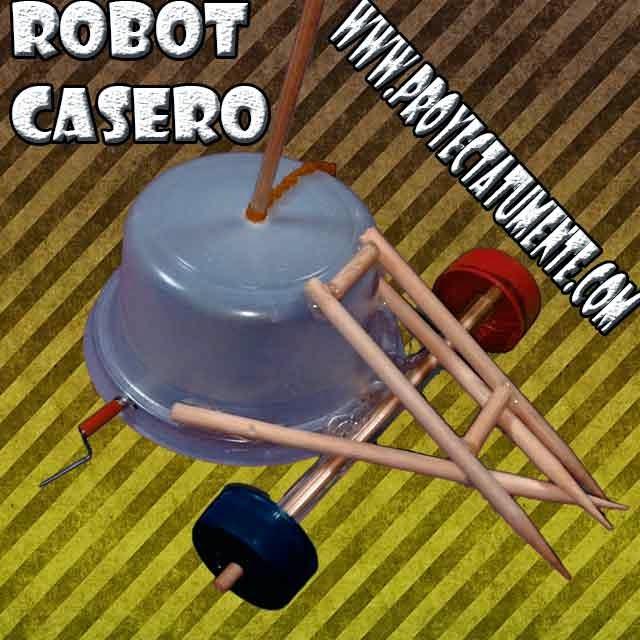 Robot casero, reciclaje,robotica casera
