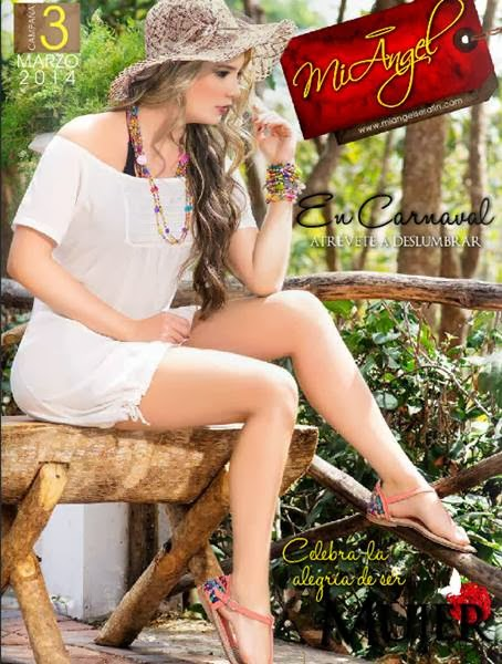 Catalogo Mi Angel Serafin Marzo 2014