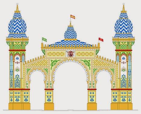 Portada Feria de Sevilla 2014
