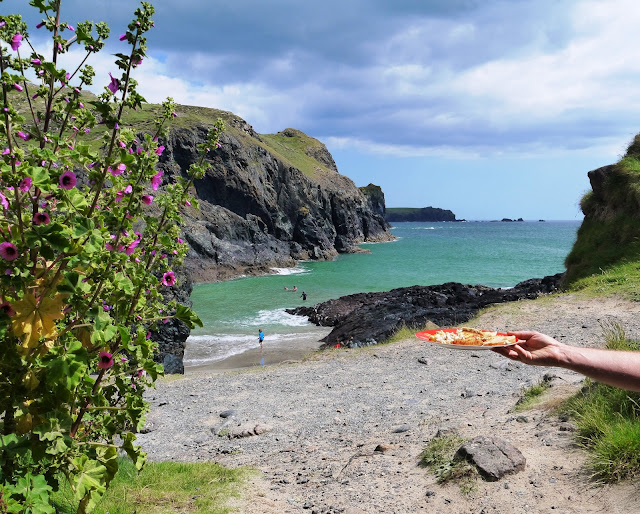 Picnic at Kynance Cove