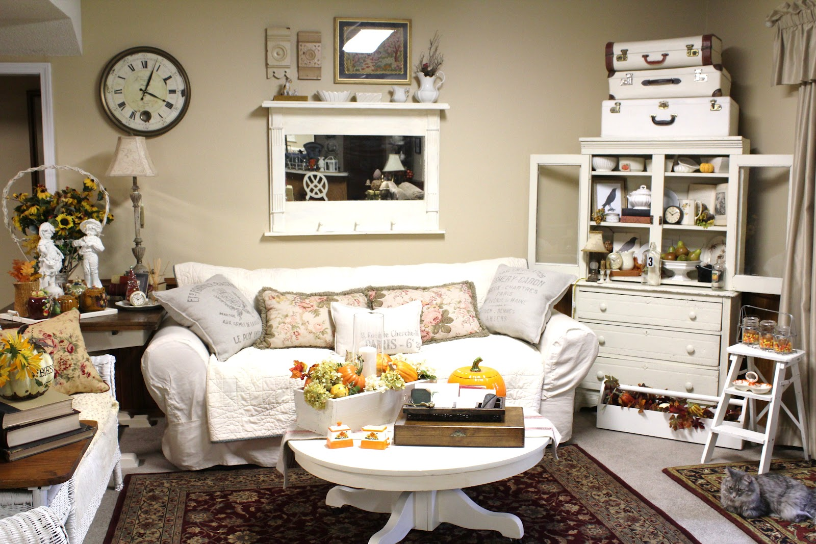 vintage inspired french country home tour debbiedoo s