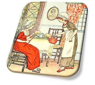 Put the Kettle On - Nursery Rhyme Picture