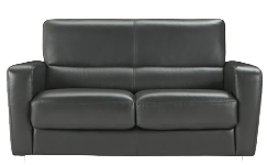 Sofa Double Seater Black