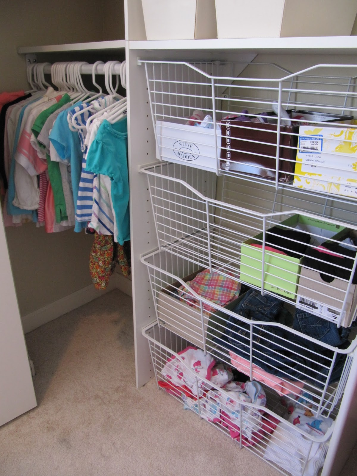 How To Organize Clothes Without A Dresser Or Closet