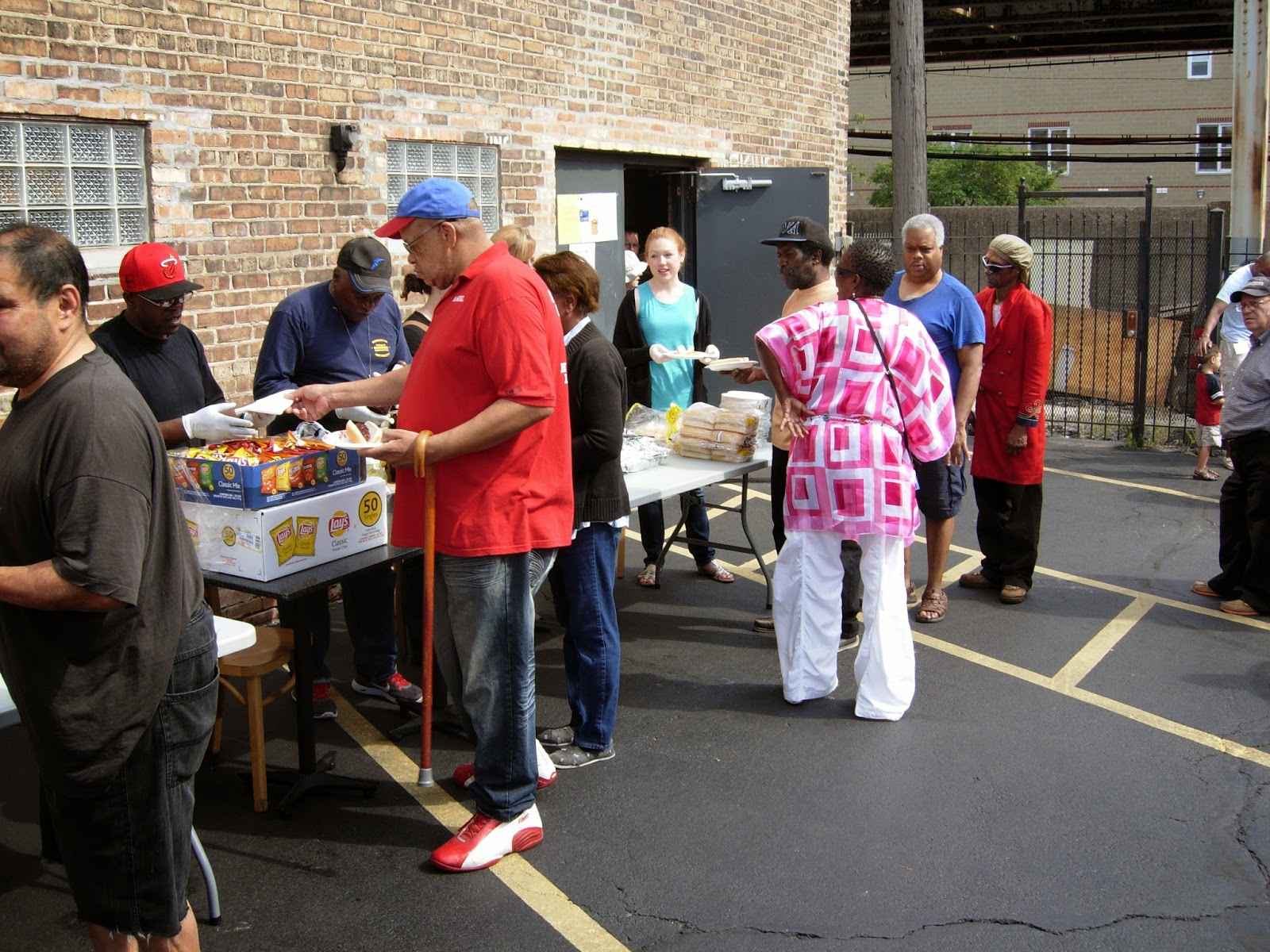 The food pantry is open every Saturday from 9 - 11 a.m. The food pantry serves residents of Cook County. Clients may visit the food pantry every Saturday.