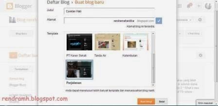 judul dan url blog