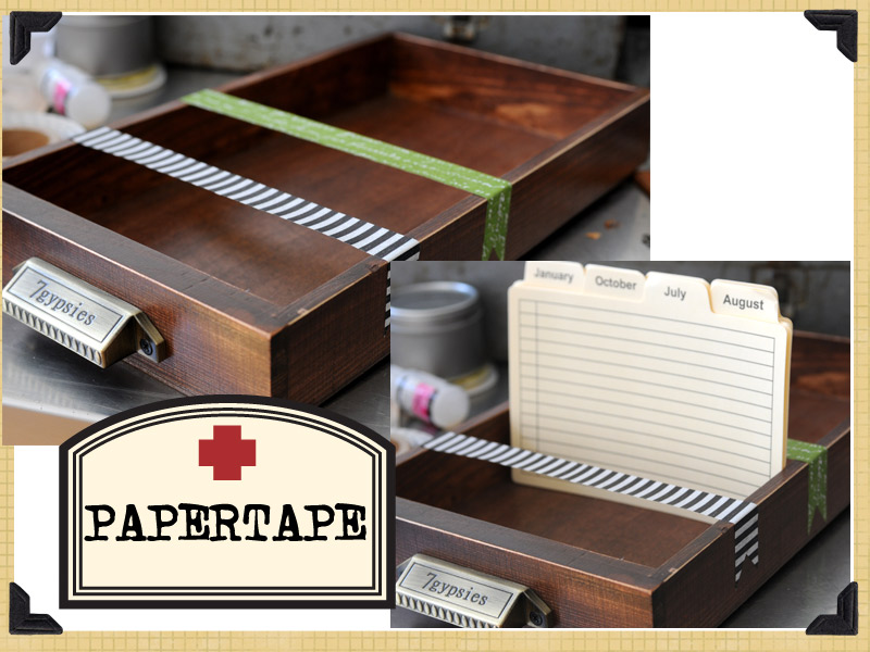 Gypsy Tip Library Drawer Dividers