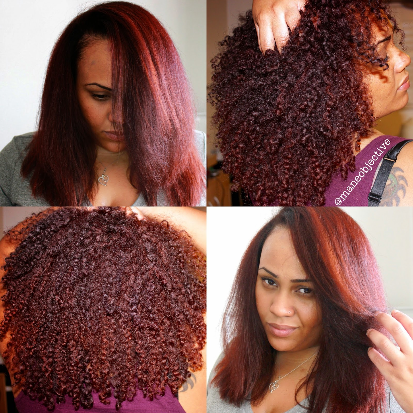 Red Natural Hair Color