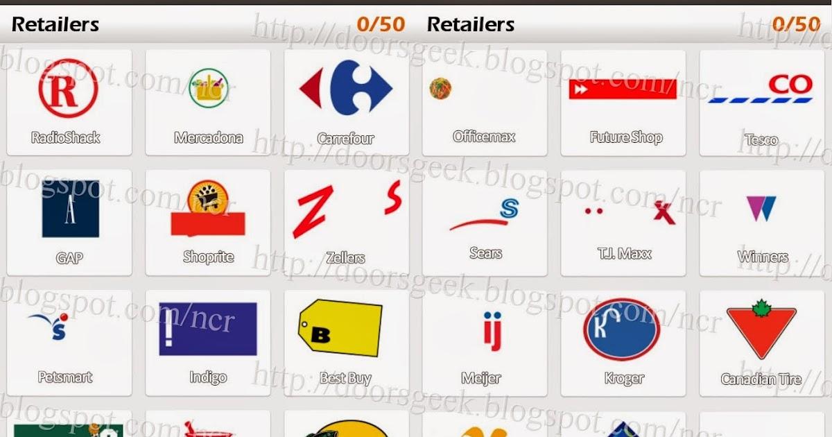Logo Game: Guess the Brand [Bonus] Retailers ~ Doors Geek