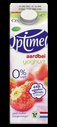 lekkere aardbeien yoghurt van optimel