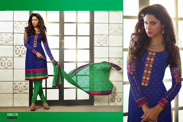 Buy Chanderi Cotton Dress Material | Wholesale Suppliers