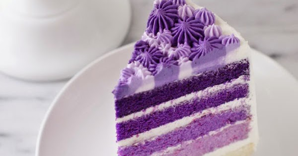 Purple Ombre Layer Cake | Best Recipes On The Web