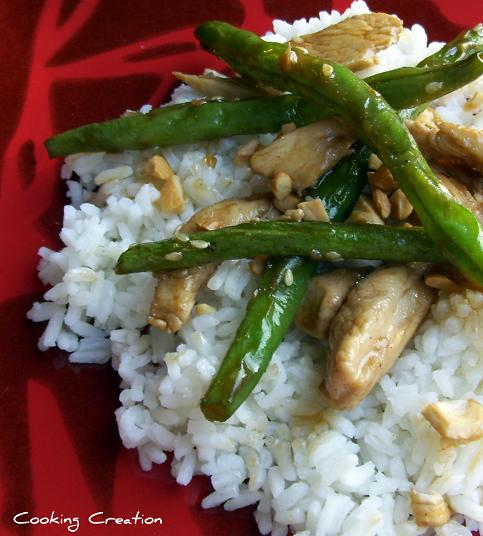 Cooking creation chinese chicken and green beans chinese chicken and green beans forumfinder Image collections
