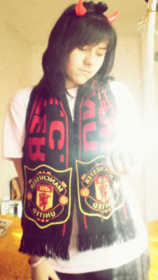 Vasilena - A Manchester United girl from Bulgaria