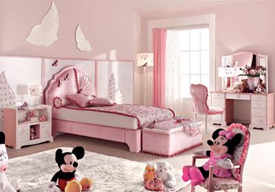 dormitorio temático mariposas