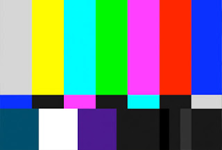 colored bars on television