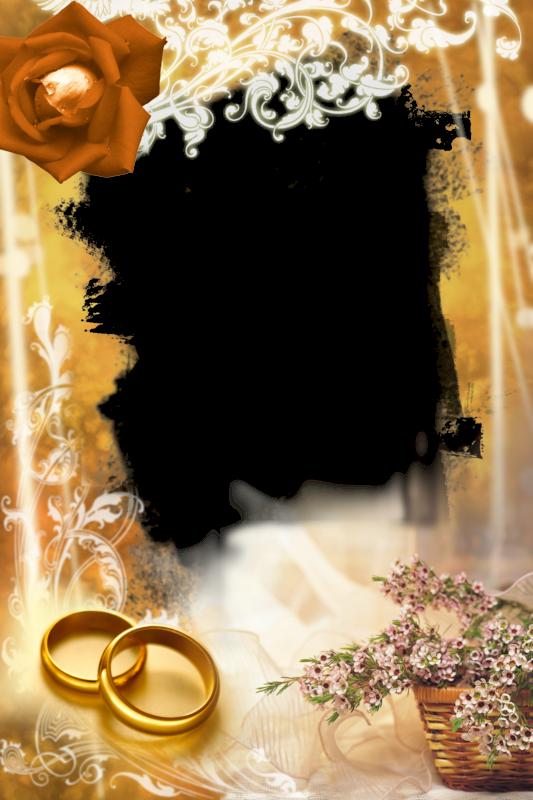 Marcos para bodas png gratis - Imagui