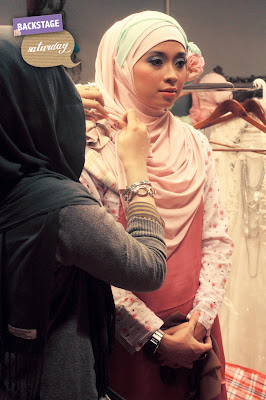 Backstage : Hijabers Comm Launching-Saturday