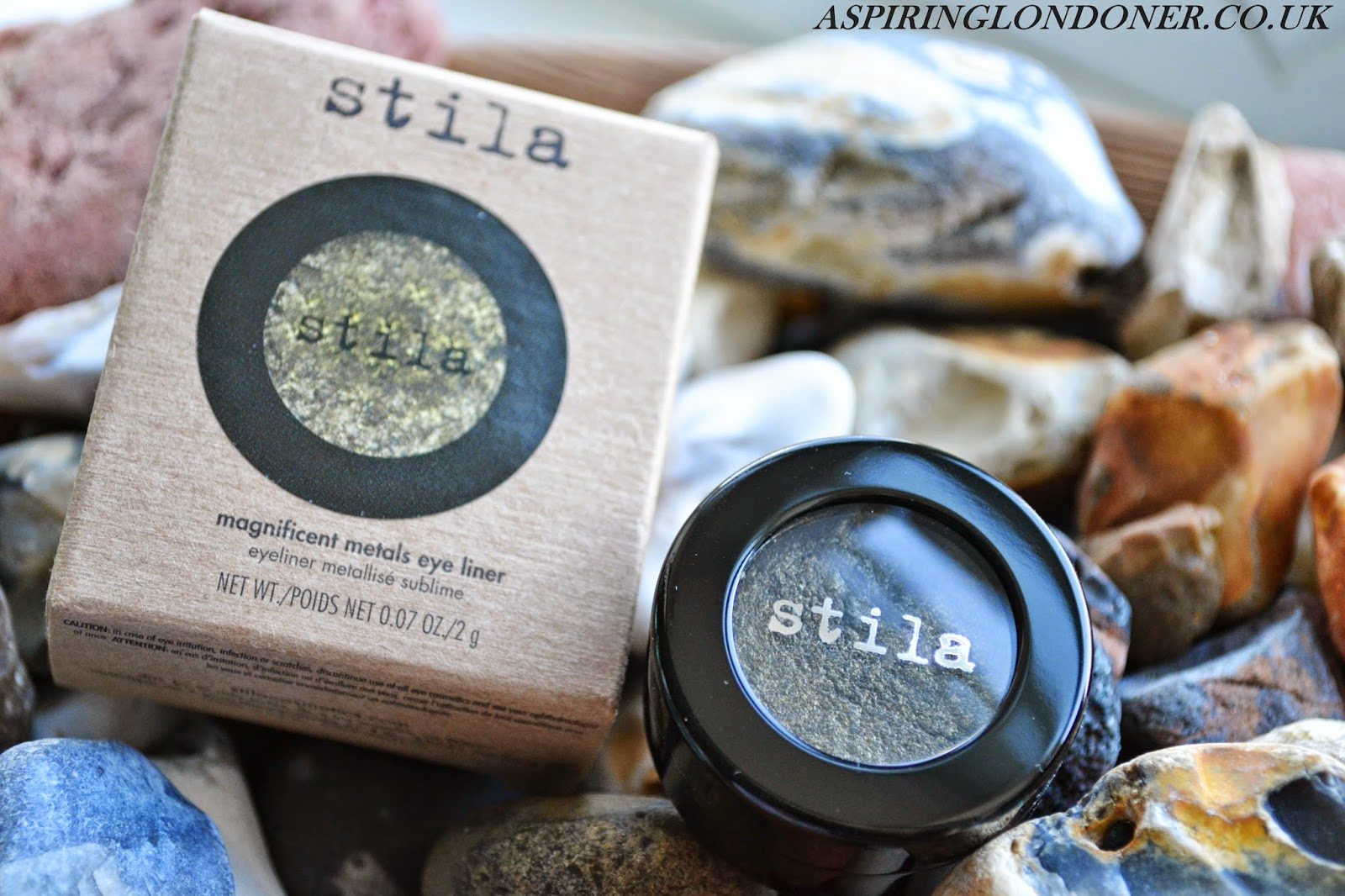 Stila Magnificent Metals Eye Liner Review & Swatches - Aspiring Londoner