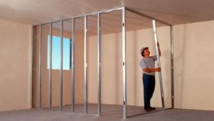 Volco gonzalez metal tabiques division de ambientes for Tabiques divisorios para oficinas