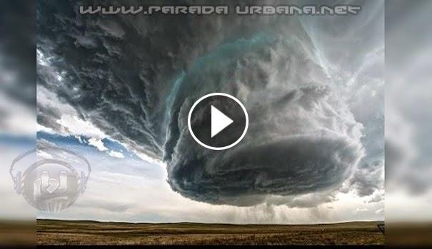 VIDEO IMPRESIONANTE - Observa la formación de una gran tormenta Supercelda