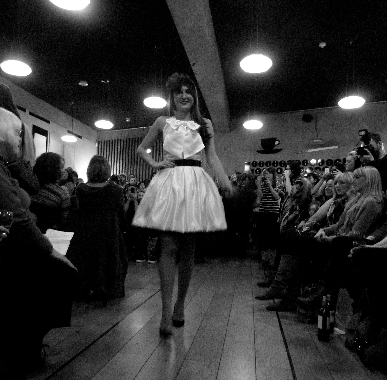 nottingham confidential flashback vintage fashion show at