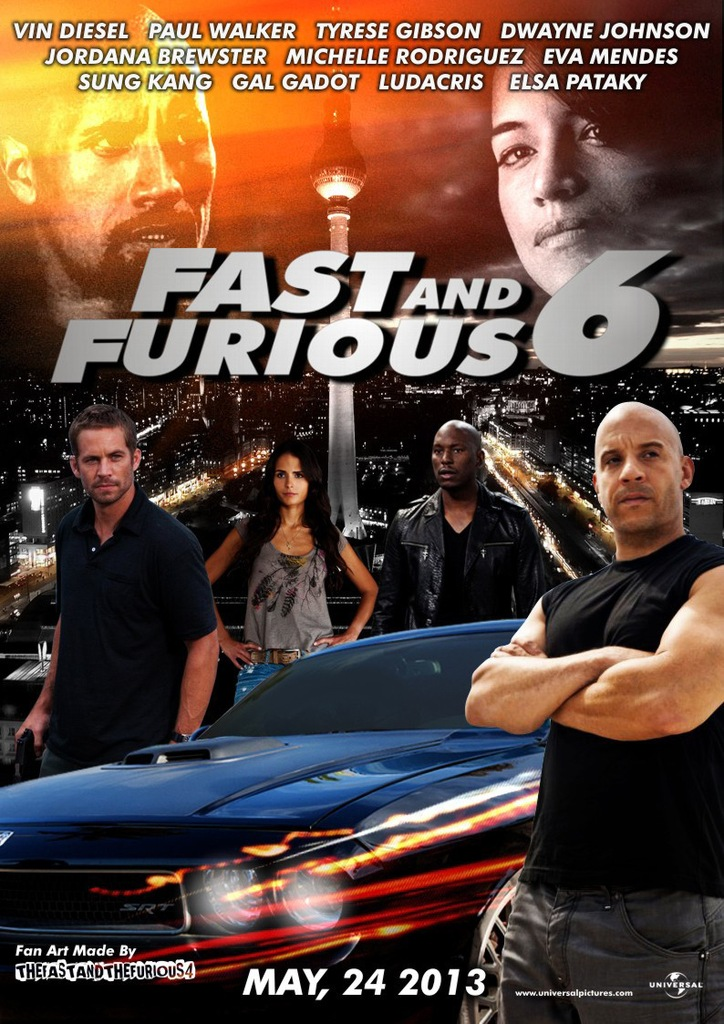 Quá Nhanh Qua Nguy Hiểm 6 (2013) Hd - Phim Fast And Furious 6