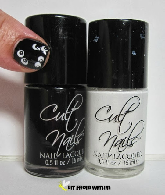 Boo-tle shot! Cult Nails Nevermore, and Cult Nails Tempest.