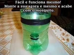 Faça uma armadilha para o mosquito da dengue! Utilidade Ecológica