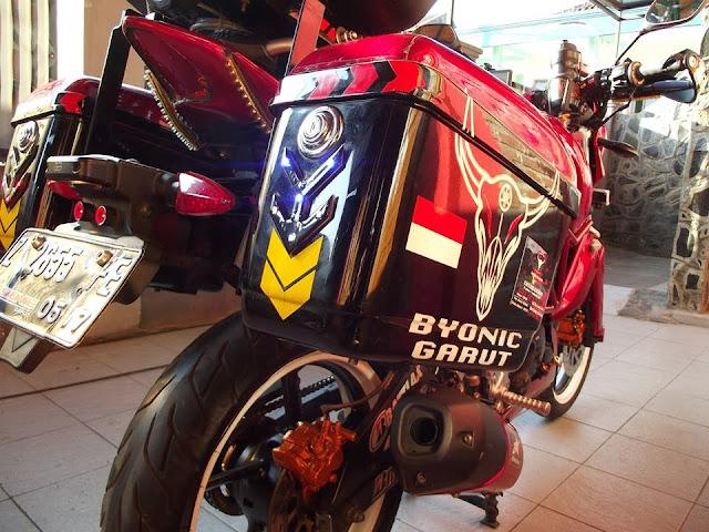 Modifikasi Byson 2012 Ala Touring Minimalis