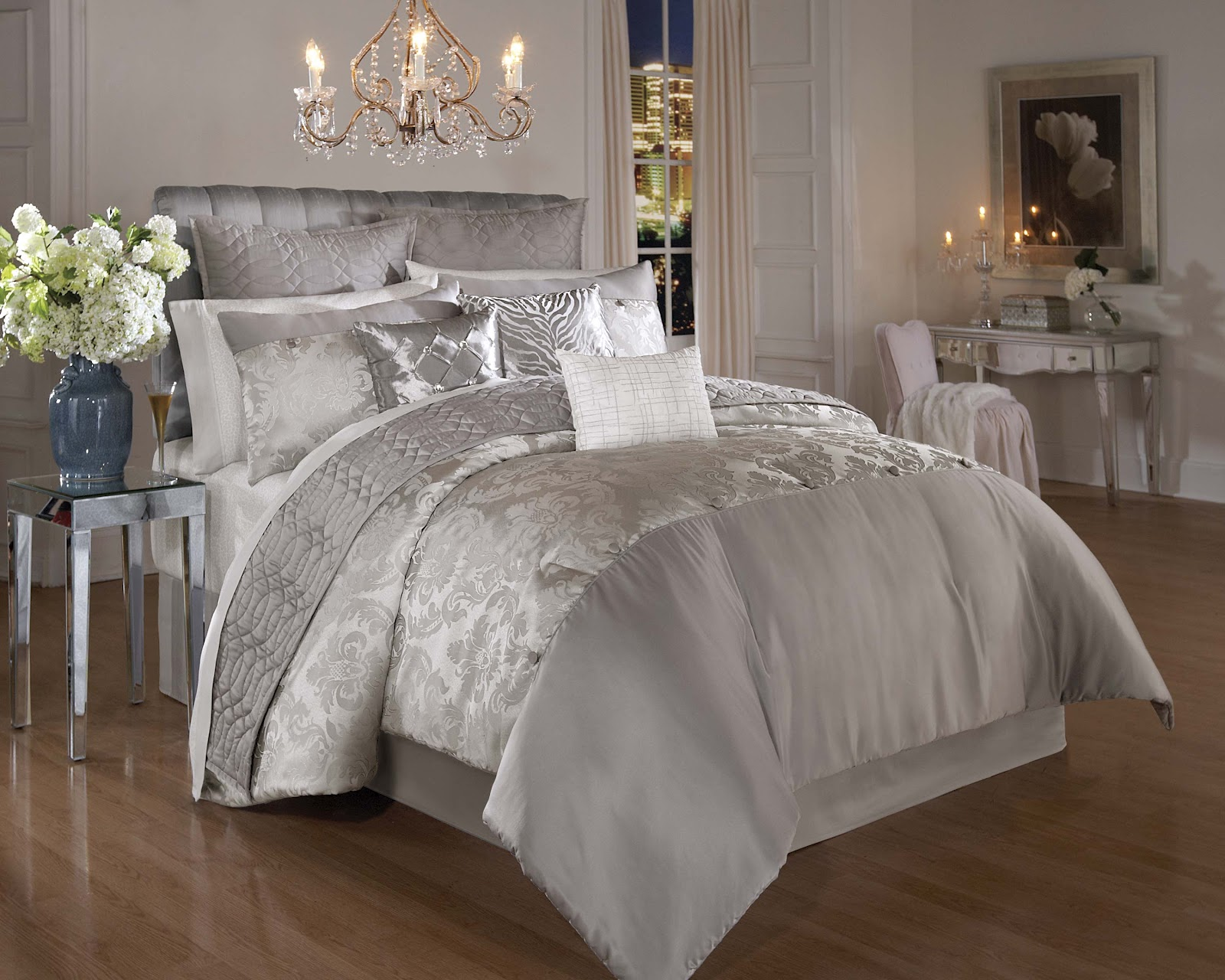 Everything she wants sleep with the kardashians 39 bedding for Bed settings