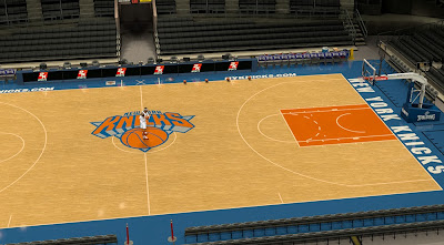 Default 2K Knicks' Court