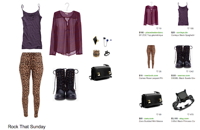 Polyvore punk rock inspiration board