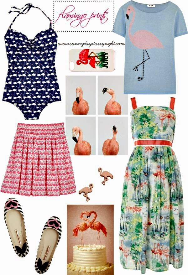 Flamingo Print Fashion