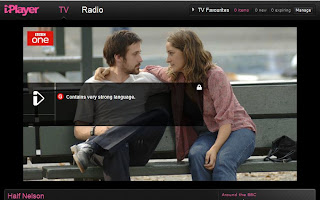 Half Nelson on BBC iPlayer