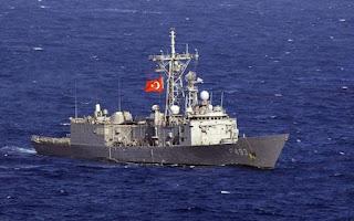 Σοβαρή πρόκληση από τουρκική φρεγάτα!! Νοτιοδυτικά της Πάφου!!