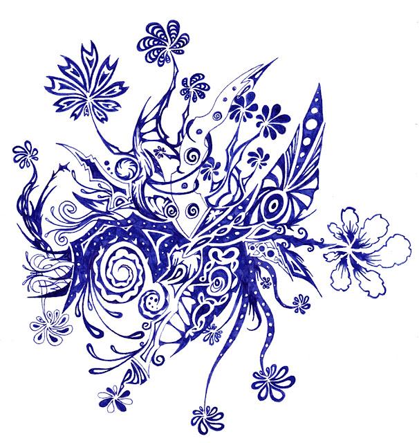 Dessins Fantastiques Fleurs+bleues+11-2