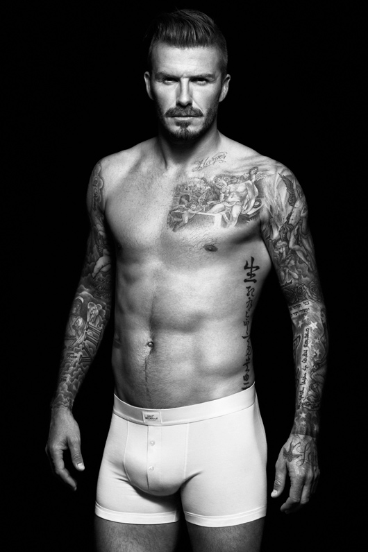 David Beckham for H&M F/W 2012-2013 Campaign