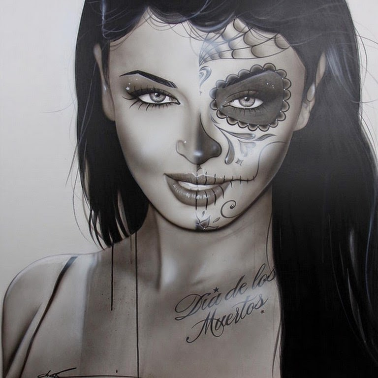 rostros-femeninos-cuadros-fotografías
