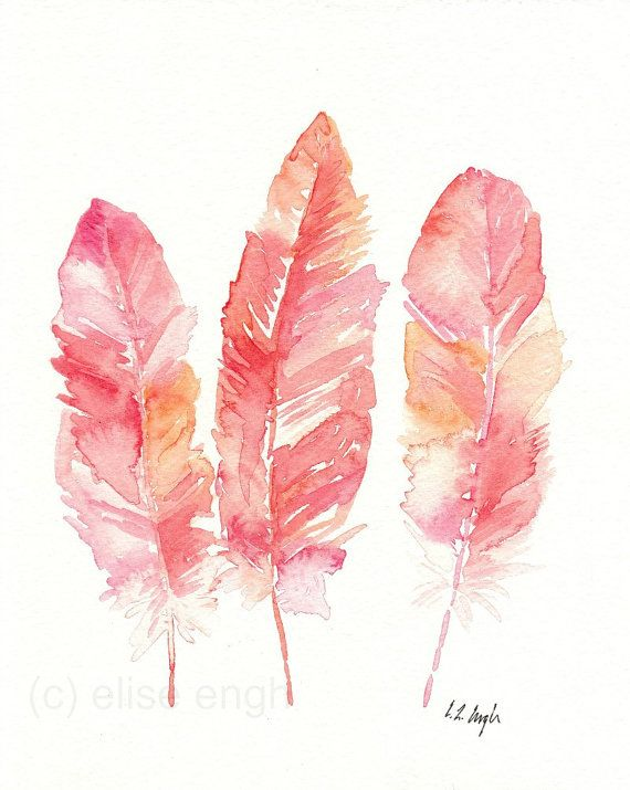 Autumn Colours Illustration feathers watercolour Art Artwork Inspiration Blog Artist Sail and Swan