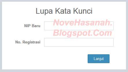 cara mengatasi masalah lupa kata kunci saat ingin login pada PUPNS BKN online 2015 2