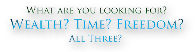what are you looking for? time? wealth? freedom? all three? peluang perniagaan by premium beautiful