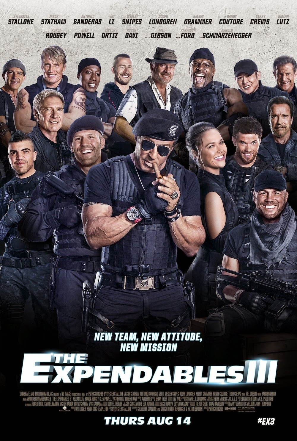 ¡Cartelicos!: The Expendables 3