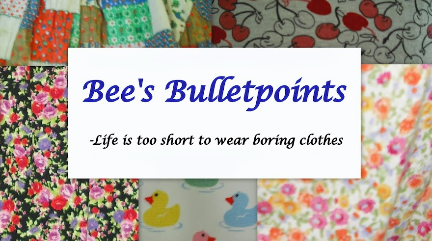 Bee's Bulletpoints